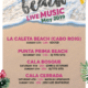 Chiringuitos del Sol. Beach live Music cartel